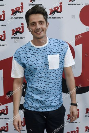 Radio presenter Guillaume Pley