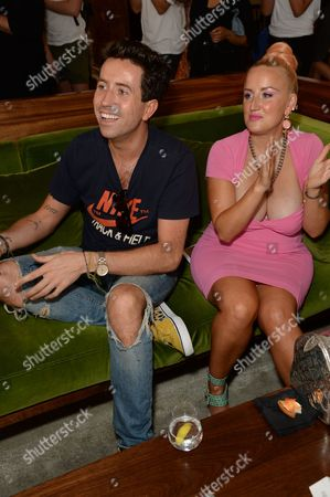 Nick Grimshaw and Aimee Phillips