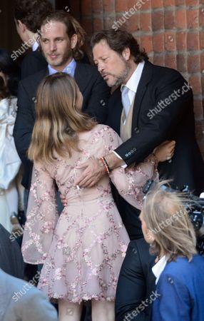 Princess Alexandra of Hanover and Arpad Busson