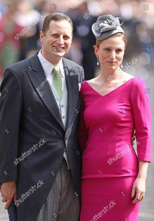 Prince Georg Friedrich of Prussia of Preussen, wife Princess Sophie of Isenburg,
