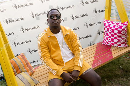 Kojo Funds re-fuelled backstage at Wireless festival with a #NandosRider.