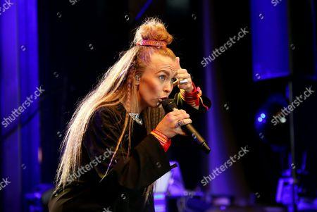 Stock Image of Sofia Jannok