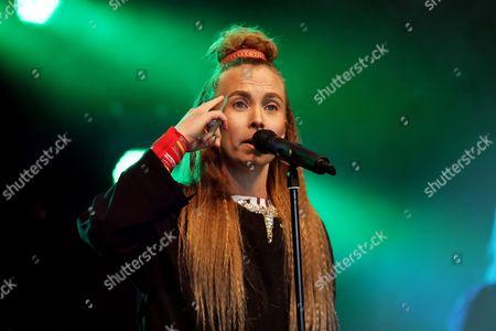 Stock Picture of Sofia Jannok