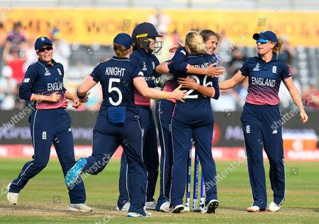Editorial image of England v Australia, ICC Women's World Cup - 09 Jul 2017