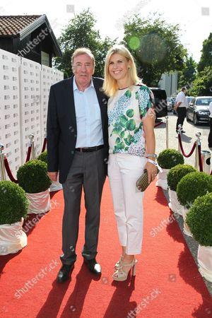 Frank Fleschenberg mit Anke Huber,.