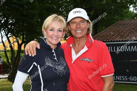 Christa Kinshofer and Hansi Hinterseer,.