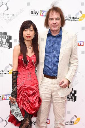 Stock Image of Jiaxin and Julian Lloyd Webber