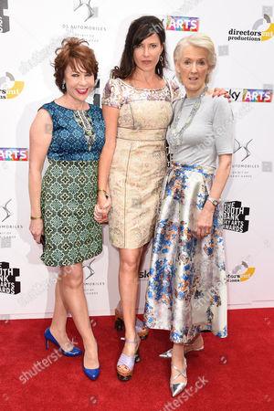 Kathy Lette, Ronni Ancona and Joanna Trollope