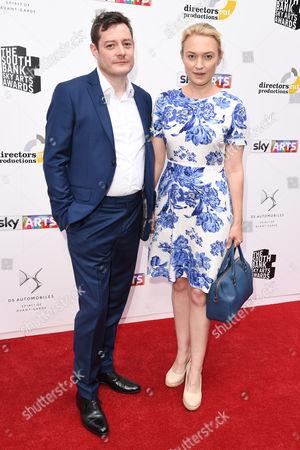 Sophia Myles and partner