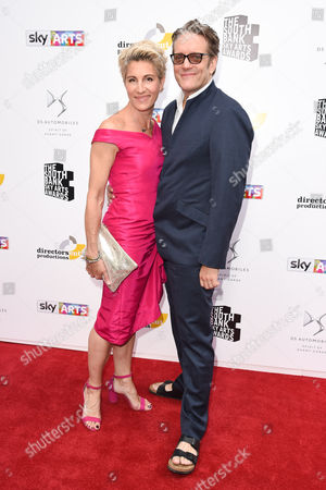 Tamsin Greig and Richard Leaf