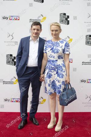 Stock Image of Sophia Myles and partner