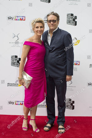 Stock Photo of Tamsin Greig and Richard Leaf
