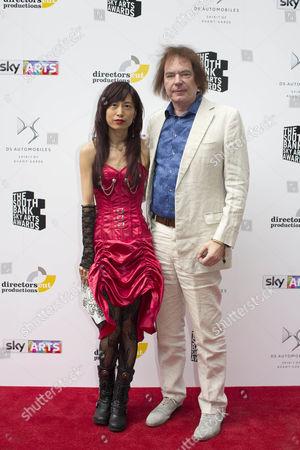 Editorial image of South Bank Sky Arts Awards, Arrivals, London, UK - 09 Jul 2017