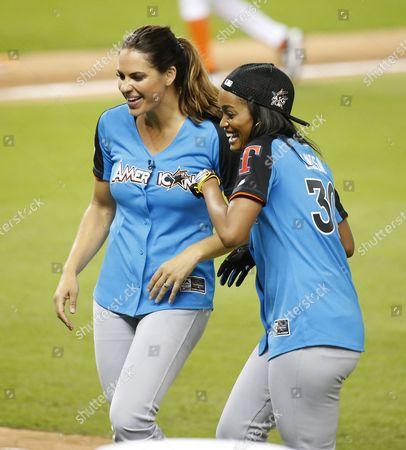 Jessica Mendoza and Rachel Lindsey