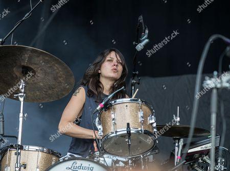 Stella Mozgawa of Warpaint