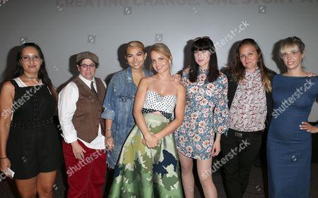 Lucy Mukerjee-Brown, Rebecca Drysdale, Hayley Kiyoko, Mena Suvari, Lena Hall, Alyssa Robbins, Elizabeth Rohrbaugh