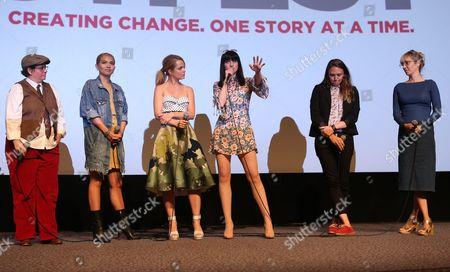 Rebecca Drysdale, Hayley Kiyoko, Mena Suvari, Lena Hall, Alyssa Robbins, Elizabeth Rohrbaugh