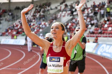 Editorial image of Athletics - German National Championships, Erfurt, Germany - 09 Jul 2017