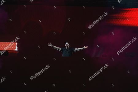 Stock Picture of DJ Hardwell
