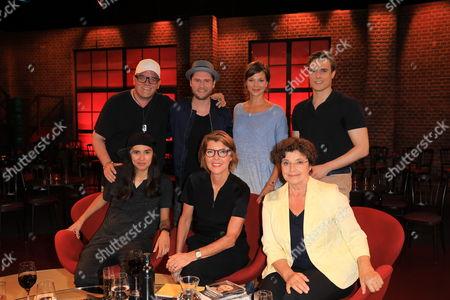 DJ Ötzi, Diana Kinnert, Johannes Oerding, Bettina Böttinger, Jessica Schwarz, Monika Baumgartner, Constantin Schreiber