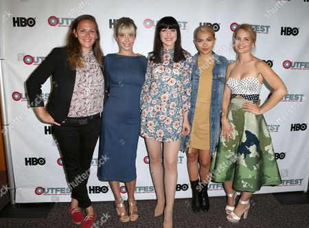 Editorial photo of 'Becks' film screening, Outfest Los Angeles LGBT Film Festival, USA - 09 Jul 2017