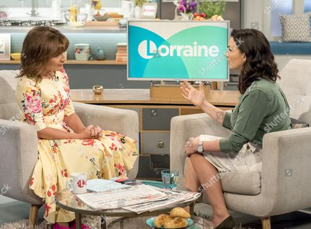 Lorraine Kelly and Nic Haste