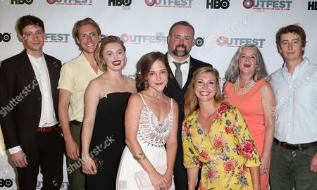 Stock Picture of David Rysdahl, Zachary Booth, Kathleen Suit, Lucy Faust, Raymond McAnally, Jennifer Gerber, Stephen Ellis