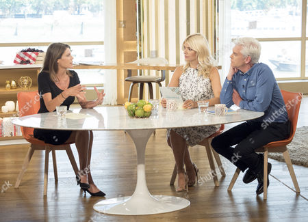 Liz Fraser, Holly Willoughby and Phillip Schofield