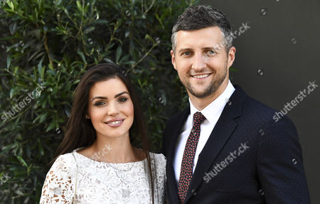 Rachael Cordingley and Carl Froch