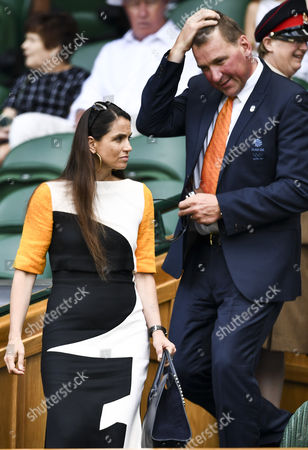 Demetra Pinsent and Matthew Pinsent in the royal box