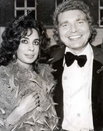 Derren Nesbitt Pictured With Hazel Tyler When They Arrived At The Abc Last Night For A Premiere 1973.