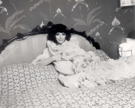 Portrait Of British Actress Fenella Fielding; From An Article In Weekend Entitled Who Were You Chatting Up In Bed Last Night?