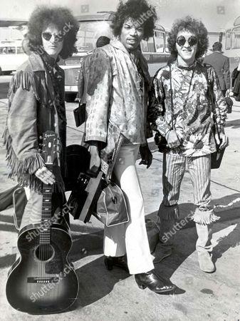 Noel Redding, Jimi Hendrix and Mitch Mitchell