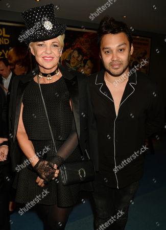 Stock Image of Amanda Eliasch and Pablo Ganguli