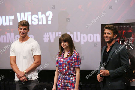 Editorial image of Special New York Fan Screening of 'WISH UPON', New York, USA - 10 Jul 2017