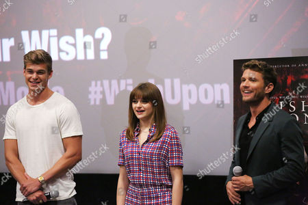 Editorial picture of Special New York Fan Screening of 'WISH UPON', New York, USA - 10 Jul 2017