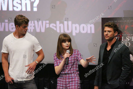 Editorial photo of Special New York Fan Screening of 'WISH UPON', New York, USA - 10 Jul 2017