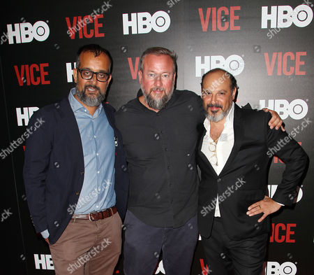 Suroosh Alvi, Shane Smith (CEO; VICE) and Eddy Moretti