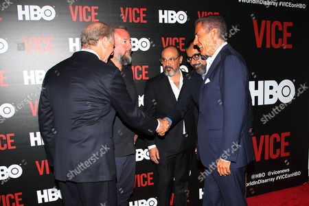 Richard Plepler (CEO; HBO), Richard Haass (President; Council on Foreign Relations) and Shane Smith (CEO; VICE), Eddy Moretti and Suroosh Alvi