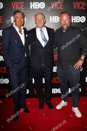 Richard Plepler (CEO; HBO), Richard Haass (President; Council on Foreign Relations) and Shane Smith (CEO; VICE)