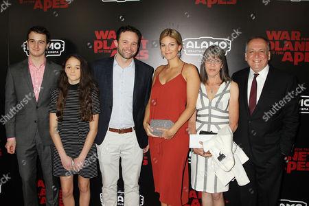 Joe Letteri with Family