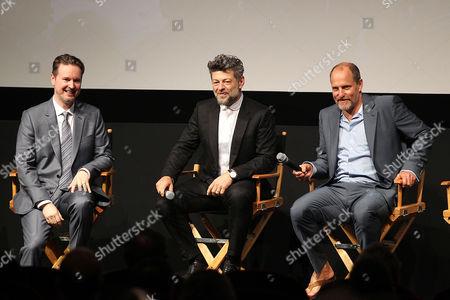 Matt Reeves, Andy Serkis, Woody Harrelson