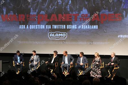 Matt Reeves, Andy Serkis, Woody Harrelson, Steve Zahn, Amiah Miller, Joe Letteri