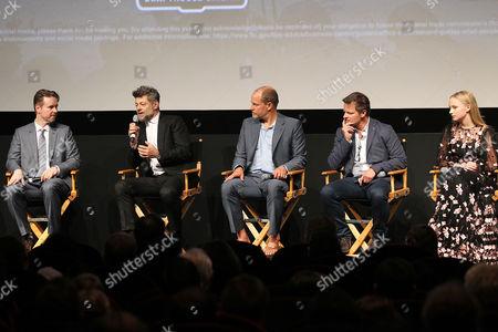 Matt Reeves, Andy Serkis, Woody Harrelson, Steve Zahn, Amiah Miller