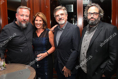 Shane Smith (CEO; VICE), Sherrie Westin (Exec. VP; Sesame Workshop), Tom Freston and Jonah Kaplan (Executive Producer; VICE)