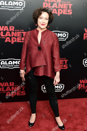 Editorial photo of 'War for the Planet of the Apes' film premiere, Arrivals, New York, USA - 10 Jul 2017