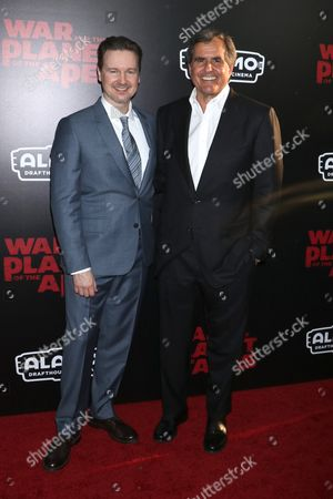 Matt Reeves, director and Peter Chernin