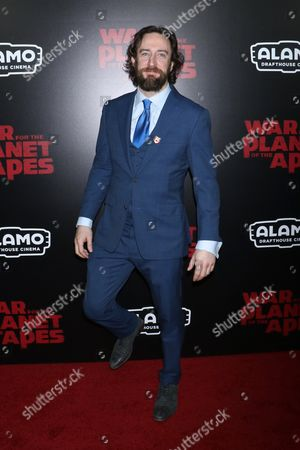 Editorial picture of 'War for the Planet of the Apes' film premiere, Arrivals, New York, USA - 10 Jul 2017