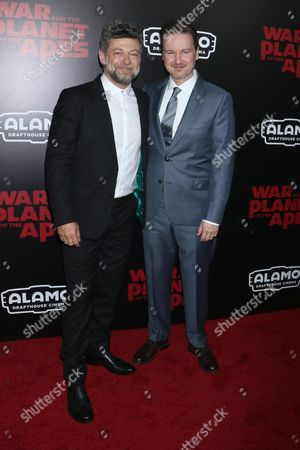 Andy Serkis and Matt Reeves, director
