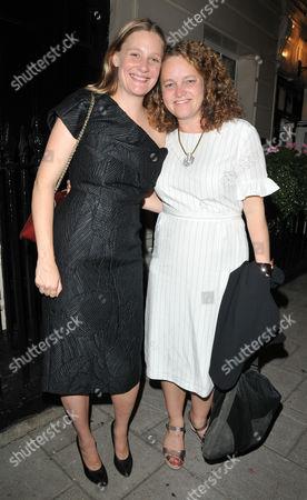 Romola Garai and Emma Cunniffe
